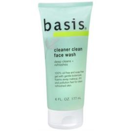 Basis Face Wash Cleaner Clean 6 oz (Pack of 2)