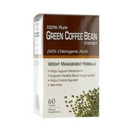 Green Coffee Bean Extract Caplets – 60 Ea