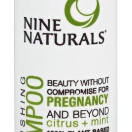 Nine Naturals – Nourishing Shampoo Citrus + Mint – 8 oz.