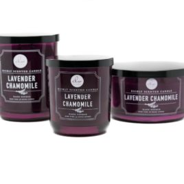 DW Home Lavender Chamomile Candle