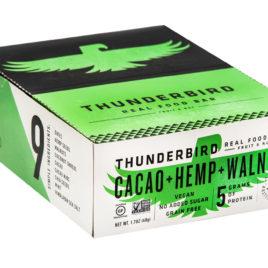 Thunderbird Bars Cacao Hemp Walnut