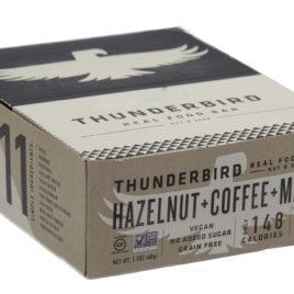 Thunderbird Bars Hazelnut Coffee Maca