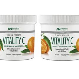 American Nutriceuticals Vitality C – 200g – 2pack